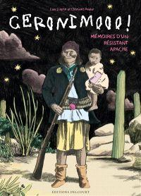 Geronimo : mémoires d'un résistant apache Clément Xavier ; Lisa Lugrin Delcourt (Encrages) 9782756050294 29,95 € Le célèbre chef apache Géronimo qui avait tenu en respect les plus glorieux généraux des USA raconte sa vie à l'auteur. Un témoignage sur le génocide qui marqua la conquête de l'Ouest. Les croyances et et les valeurs défendues par Geronimo pour le droit des Amérindiens à la fin du XIXe siècle sont mises en perspective par un court documentaire sur le quotidien des indiens de nos…