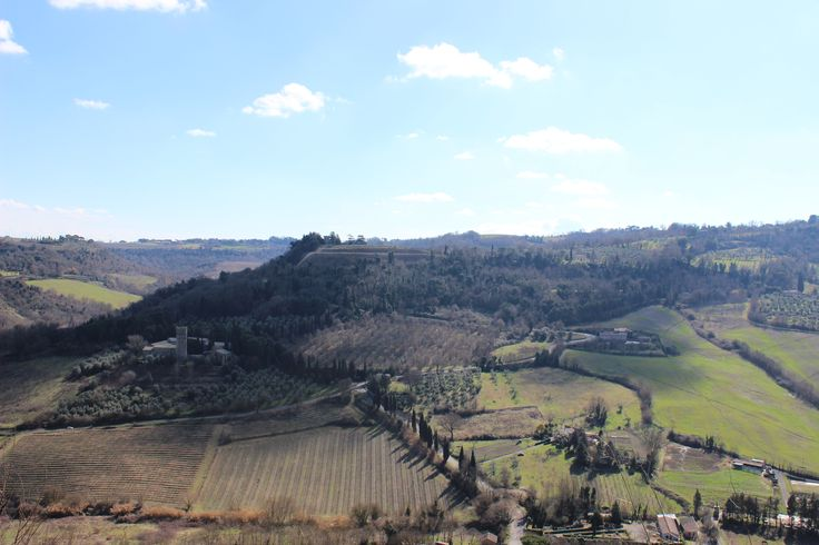 The Tuscan Hills #Green #Hills #Italia #Farms