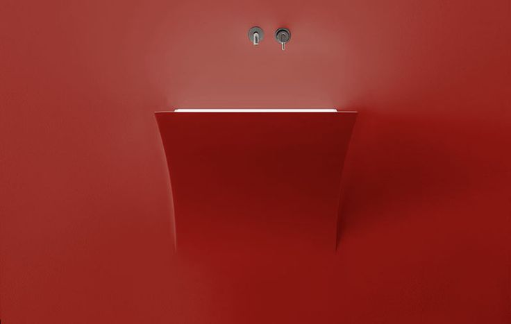 #antoniolupi #sink_red #strappo
