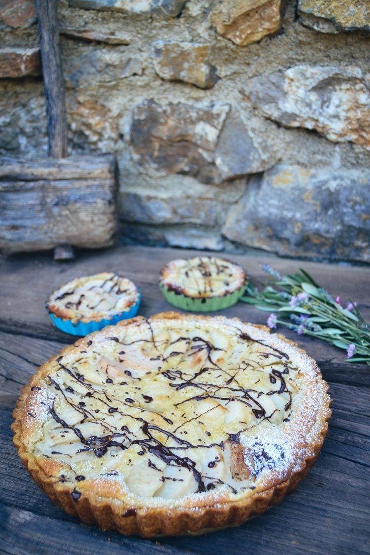 Französische Birnentarte mit Mandelcreme Tarte Rezepte