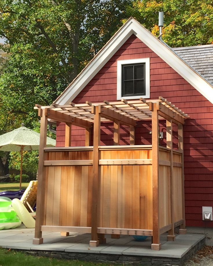 how to build an outdoor shower - How To Build An Outdoor Shower