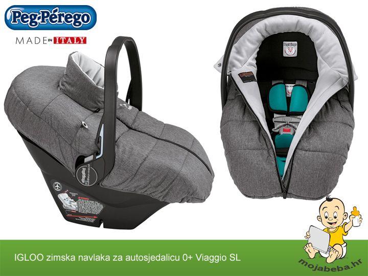 Jeste li spremni za hladne zimske dane ?  Peg Perego Igloo zimska navlaka za autosjedalicu od rođenja do godine dana.