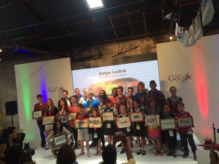 Well Done to Kye, Sofia & Athena 4 placing amongst the Top20 Finalists out of 5000 entries in the #Doodle4Google comp.