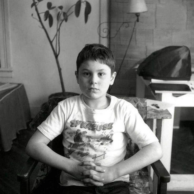Robert De Niro. Taken at 7 years old.