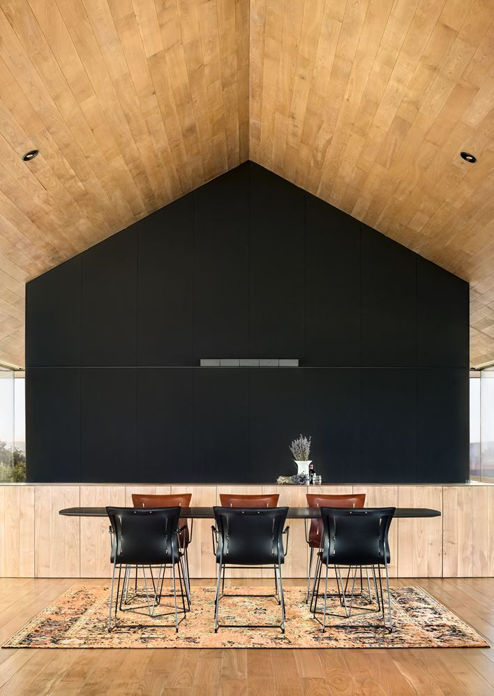 Observation House - Picture gallery #architecture #interiordesign #wood #livingroom