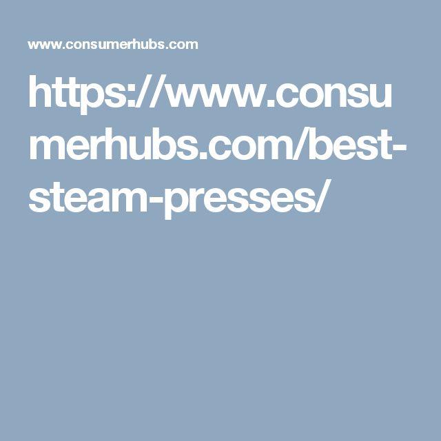 https://www.consumerhubs.com/best-steam-presses/