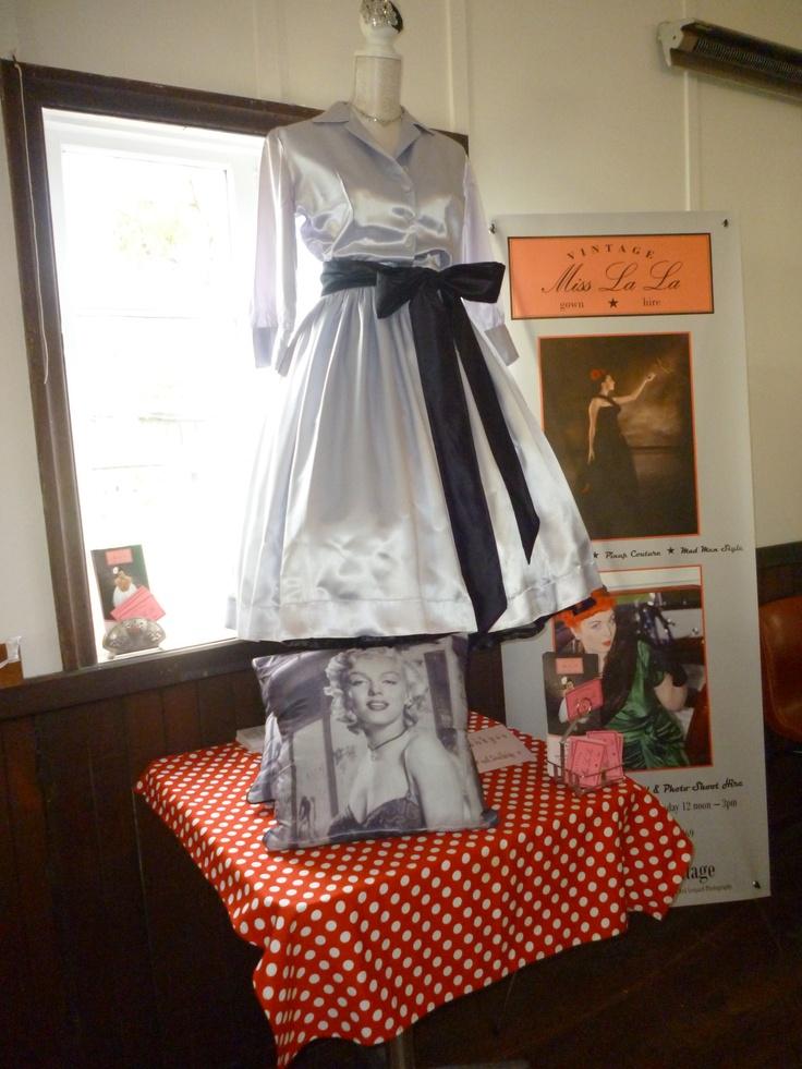 At the stall Miss La La Vintage Display  www.capeoflove.com