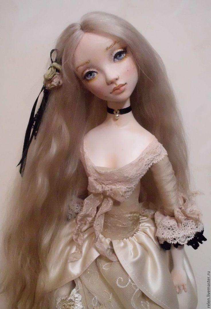 """Купить кукла """"Элизабет"""" - кукла, подвижная кукла, интерьерная кукла, художественная кукла, красивая кукла"""