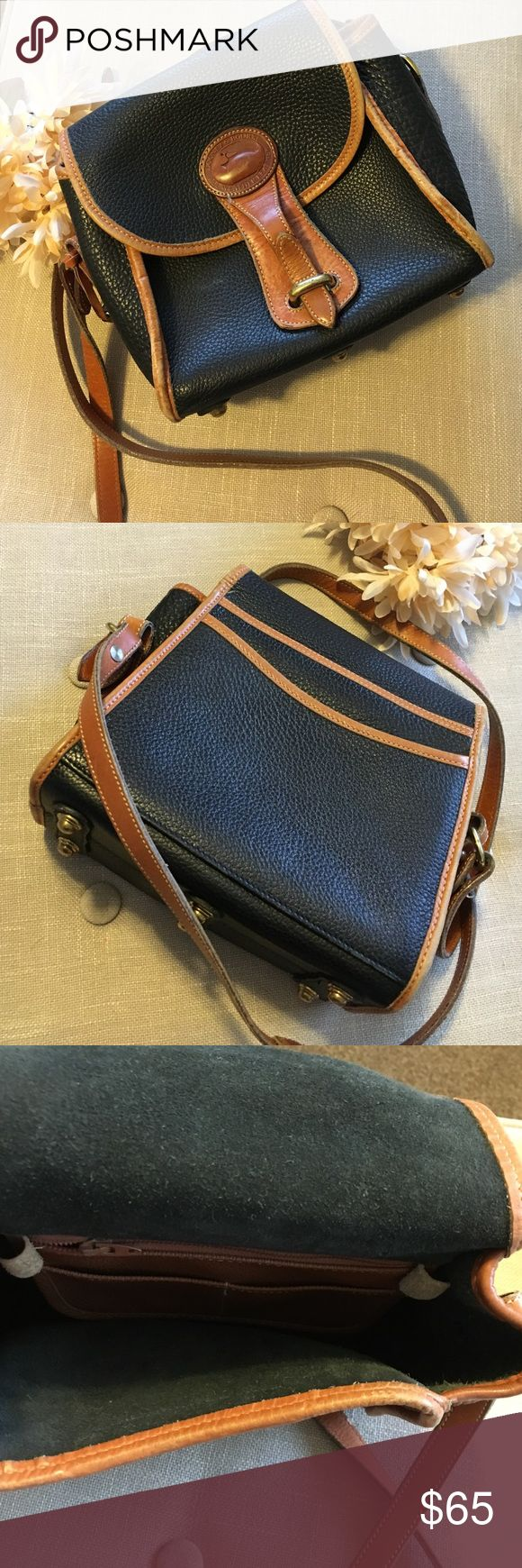 Vintage Dooney & Bourke All Weather Leather Bag This Vintage Dooney & Bourke All Weather Leather Bag is preloved but in good condition! Leather is worn and faded in some areas but it mostly just adds to its vintage charm! Having a hard time letting her go, such a reliable quality bag! Dooney & Bourke Bags Crossbody Bags