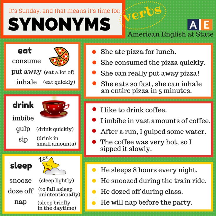 Synonyms Archives - 7 E S L