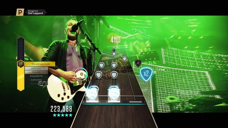 Def Leppard's new music video is premiering in Guitar Hero Live