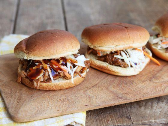 Estilo Carolina sacó cerdo sándwich Receta - Food.com