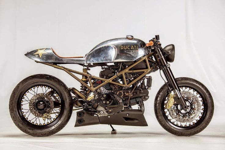 99garage | Cafe Racers Customs Passion Inspiration: Ducati Monster 1000 MB1/03