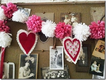 Außergewöhnlich My Little Valentine Pompom Garland Tutorial