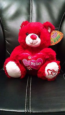 Valentines Day I Love You Be Mine Red Teddy Bear Plush Toy 2017 Sugar Loaf NWT | Toys & Hobbies, Stuffed Animals, Other Stuffed Animals | eBay!