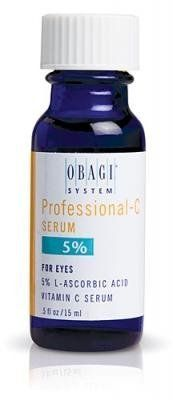 Obagi Professional-C Serum 5% Strength by Obagi Medical. Save 53 Off!. $22.50. Antioxidant protection for the delicate eye area.. In the proper form and potency, vitamin C attacks free oxygen radicals. In addition to its function as a powerful antioxidant, vitamin C also encourages the production of collagen and elastin. Used daily, Cffectives vitamin C products can help restore the luster and youthfulness that time has taken away. Cffectives contains L-ascorbic acid, the most...