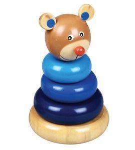 Logic Pyramid Bear Wooden Russian Toy | eBay