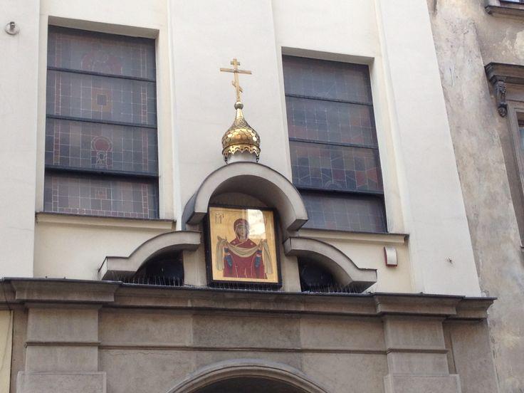 Russian Chapel on ul. Szpitalna in Krakow