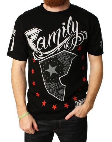 Famous Stars And Straps Men's Wild Patriot Graphic T-Shirt