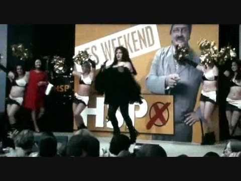 Uschi Blum singt live auf Wahlkampfveranstaltung von Horst Schlämmer - YouTube