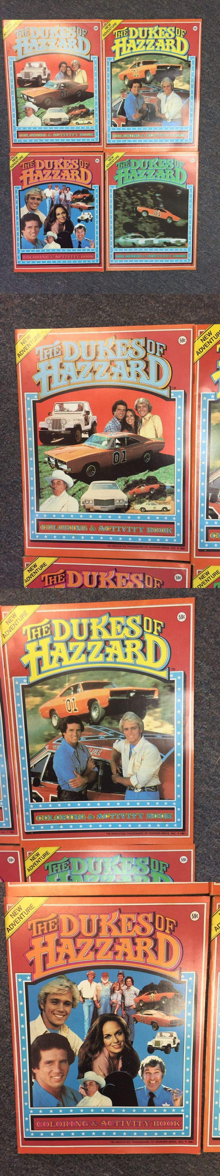 Dukes of Hazzard 20908: 1981 Dukes Of Hazard Activity And Coloring Book Set Of 4 Diff All Unused L@@K -> BUY IT NOW ONLY: $30 on eBay!