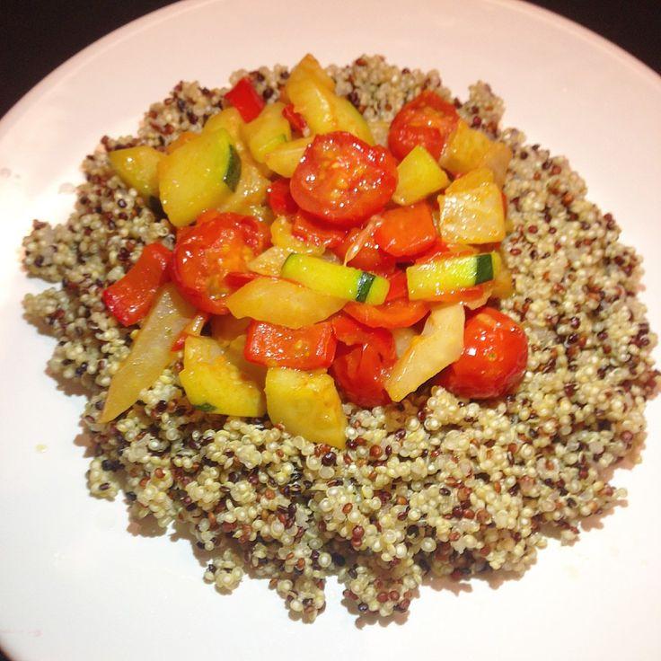 Quinoa cu Fenicul, Ardei, Zucchini