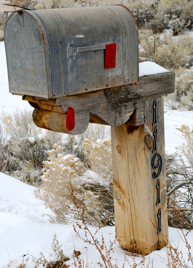 Rustic Mailbox in New Mexico
