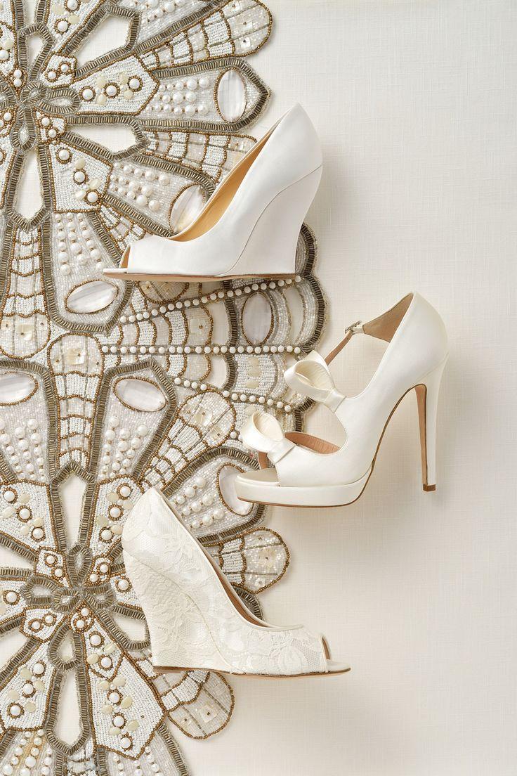 #wedding #slivert #white #crystal #shoes #NOVARESE #ウエディング #シルバー #クリスタル #靴 #ノバレーゼ