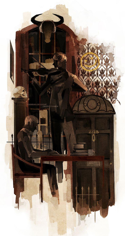 221B by *NekoKirara #Sherlock #SherlockHolmes #Sherlock-Holmes
