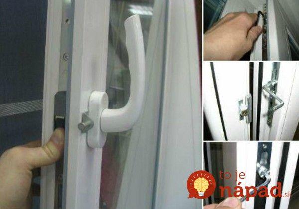 Na používanie plastového okna nepotrebuje nikto manuál. Napriek tomu existujú dve veci, ktoré by ste mali rozhodne vedieť a dodržiavať.