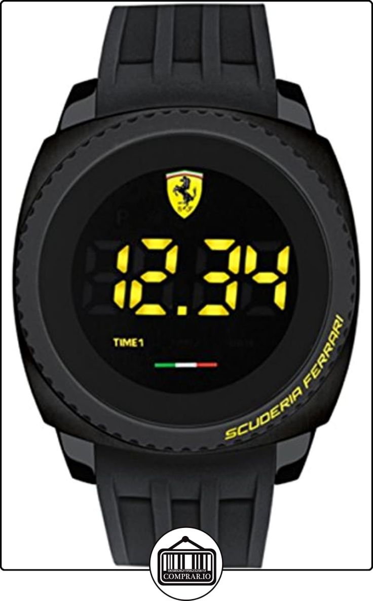 Ferrari de Hombre Reloj de pulsera Aero Touch Digital Touch Screen Digital Cuarzo Silicona 0830229 de  ✿ Relojes para hombre - (Gama media/alta) ✿