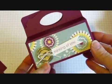 Stampin Up! Pop N Cuts Treat Box
