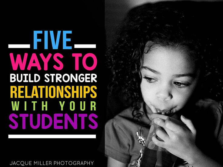 12 best gifted and living in poverty images on pinterest gifted five ways to build stronger relationships with your students fandeluxe Images