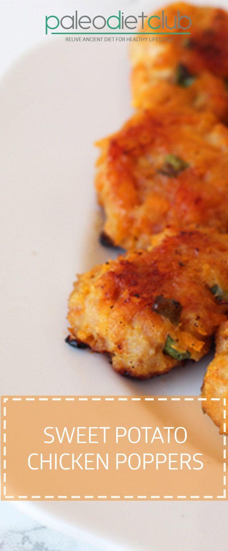 Sweet Potato Chicken Poppers – Paleo Diet