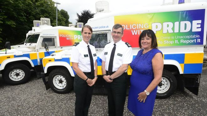 This year's Belfast's gay pride parade will include uniformed Police Service of Northern Ireland (PSNI) officers for the first time.