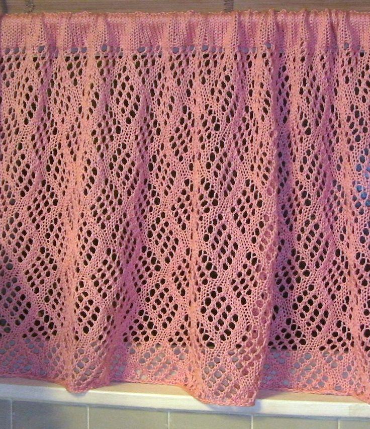 Best 25 Crochet Curtain Pattern Ideas On Pinterest