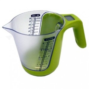 Large Digital Measuring Jug with built in Kitchen Scale