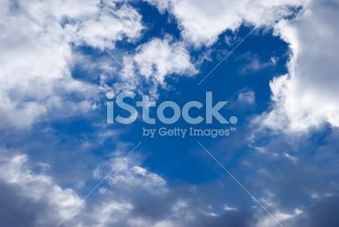 Cloud and Sky Background Royalty Free Stock Photo