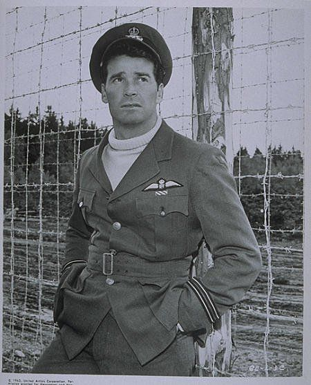 Still of James Garner in The Great Escape - we're all in prison, and only jim Rockford, that saint/devil can help us escape.