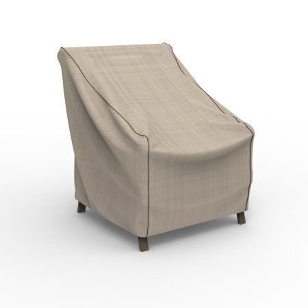 Budge English Garden Patio Chair Covers, Durable And Waterproof Outdoor  Furniture Covers, Beige