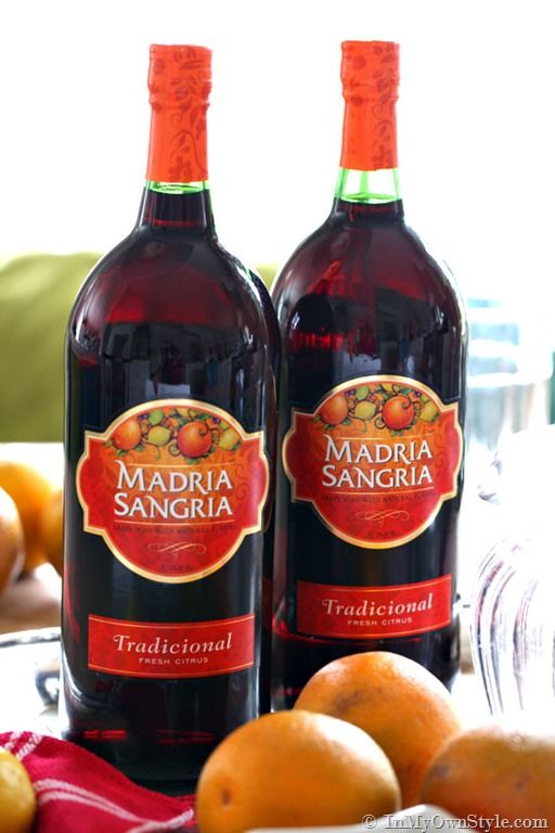 The best Store-Bought-Sangria Madria Sangria