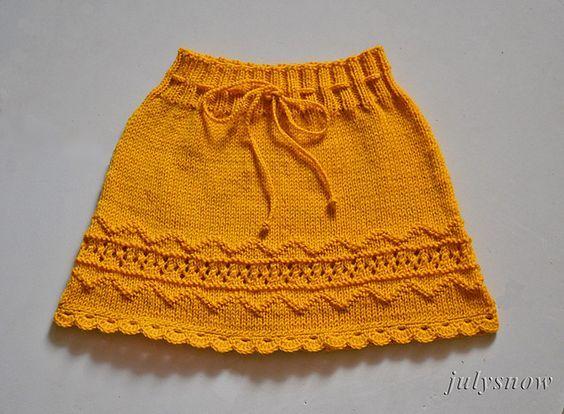 Ravelry: julysnow's Sunny Skirt