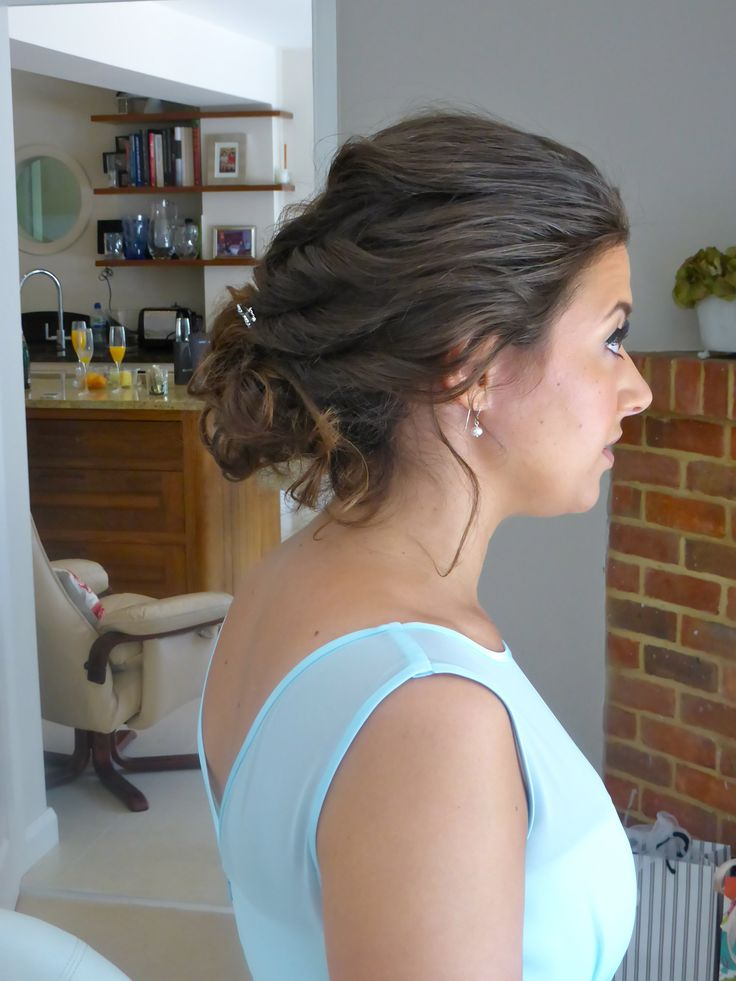 Hair by Nicky McKenzie based in Farnham Surrey - Wedding Hairstyles www.hairbynickymckenzie.co.uk