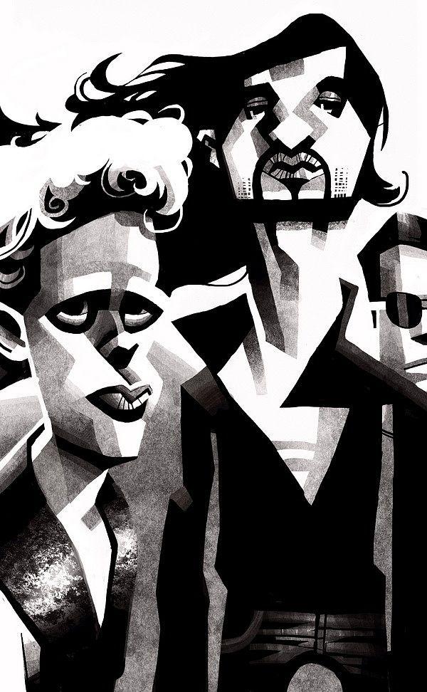 Rolling Stone by Victor Melamed #illustration #illustrations #art