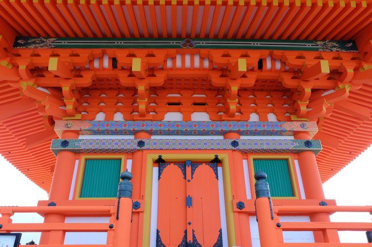 Temple of Kiyomizu in Kyoto ,Japan