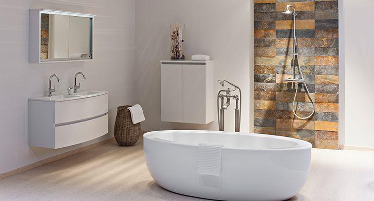 Lunate brengt een sierlijke toets in uw badkamer. Of noem het vrouwelijke elegantie. Verkrijgbaar in een totaal kleurenpalet van rustgevende tinten. De zachte gebogen lijnen springen onmiddellijk in het oog en nodigen uit om stil te worden en te genieten.