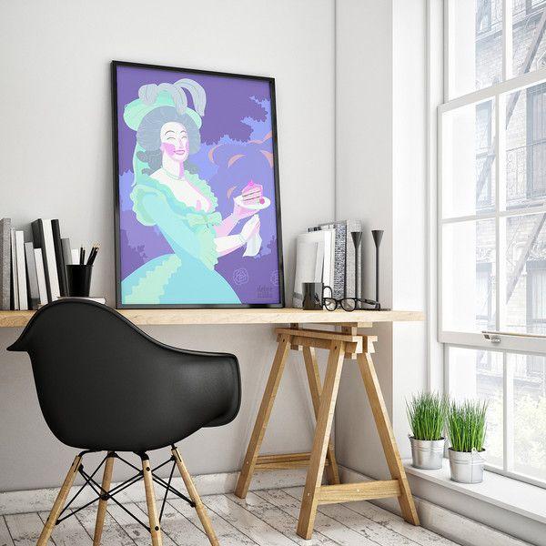MARIA Z CIASTEM plakat 50x70 - DobreSztuki - Wydruki cyfrowe