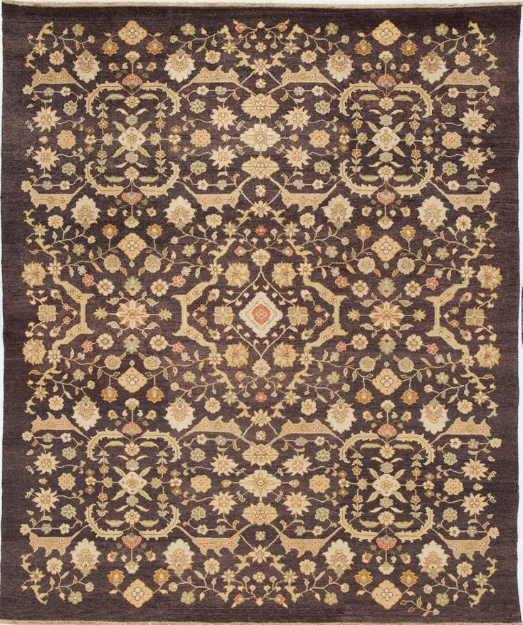 Due Process Le Trading Jinan Ferrahan Brown Area Rug 12 X 15 Ft