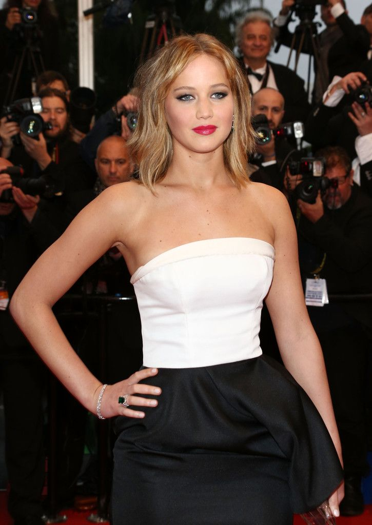 Cannes 2013 Jennifer Lawrence Love the hair