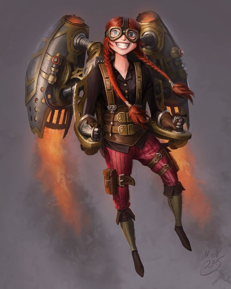 17 Images About Steampunk Fantasy Art On Pinterest